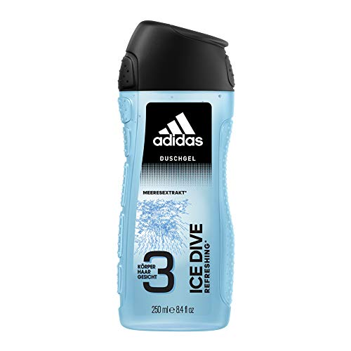 adidas Ice Dive for Men 3-in-1 Shower Gel 250 ml