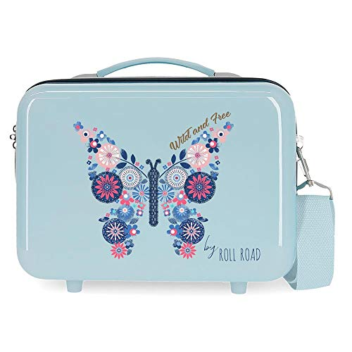Roll Road Wild and Free Mode Jeunesse 29x21x15 cm Bleu