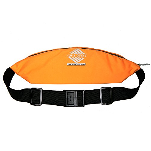 Aqua Quest KONA Orange Sport Bauchtasche Wasserabweisender Laufgürtel zum Radfahren, Wandern, Hundegehen