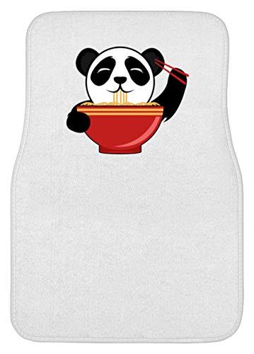 Schattige pandabeer is Chinese pasta met stokjes. Is de kleine niet om te knuffelen? - Automat