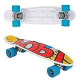 Street Surfing Pop Boards Skateboard, giallo, taglia unica