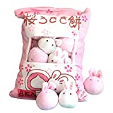 Chengbao Cute Throw Pillow Stuffed Strawberry Toys Removable Fluffy Kawaii Kitty Cat Plush Snack Pillow Pudding Decorative Animal Dolls Bed Couch Creative Toy Gifts Teens Girls Kids