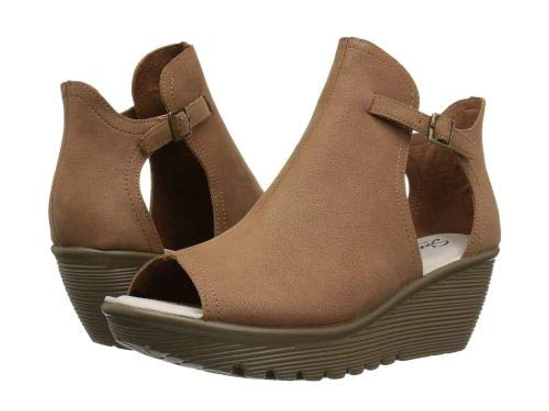 SKECHERS(スケッチャーズ) レディース 女性用 シューズ 靴 ヒール Parallel - Cookie Cutter - Tan [並行輸入品]