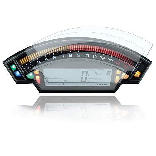 [2 Stück] Displayschutzfolie Tacho Schutzfolie geeignet für Kawasaki ZX10R 1x Ultra Clear / 1x Anti Glare