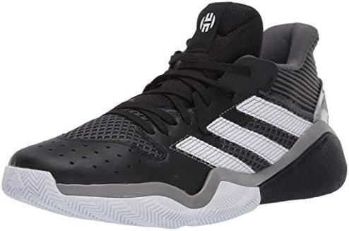 adidas mens Harden Stepback Basketball Shoe Core Black Grey Six Ftwr White 8 5 US product image
