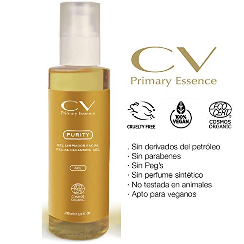 Gel limpiador facial Purity de CV Primary Essence 200 ml