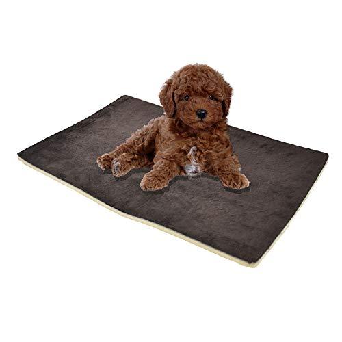 Haustier-Bett, Haustier Isoliermatte Warm Feuchtigkeitsbeständig Vier Jahreszeit verfügbar Katzen und Hunde Universal-Mats Multifunktionsfalten bewegliche Haustier-Hundematte Hundesofa Matratze waschb