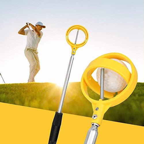 fancyU Automatisch Tragbare Teleskopische Golfball-Aufnahme, Teleskopische Golfschläger des Golfball-Apportierhund-Fänger-Fischen-Verein-Golfplatz-Versorgungsmaterialien