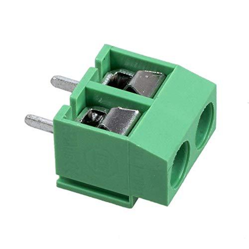 Newin Star Accessoire 250 V 20 PCS 2 et Audio Video Accessoires de Montage en Poteau de 5 mm Passage de PCB vis Blocs terminaux connecteurs et adaptateurs 8 A