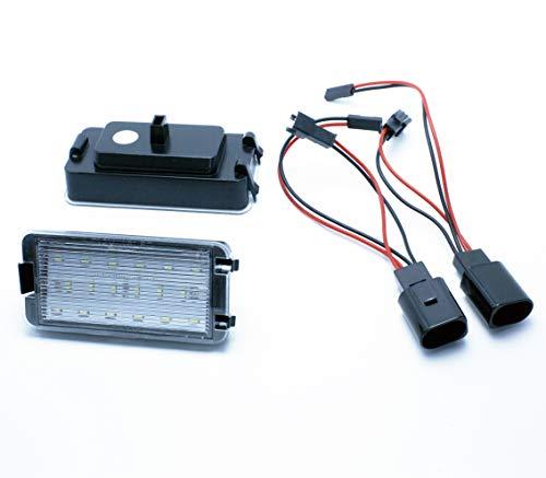 VINSTAR 2X Luces para MATRICULA LED REEMPLAZO Leon I MK1 '99 Altea 5P1