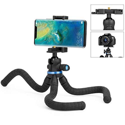 Telefoon Tripod Mini Reisstatief Camera Telefoon Statief met Bluetooth Controle voor Canon Sony Nikon DSLR&Gopro Action Cam&Samsung/iPhone/Android