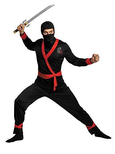 Adult Ninja Master Costume for Men STD