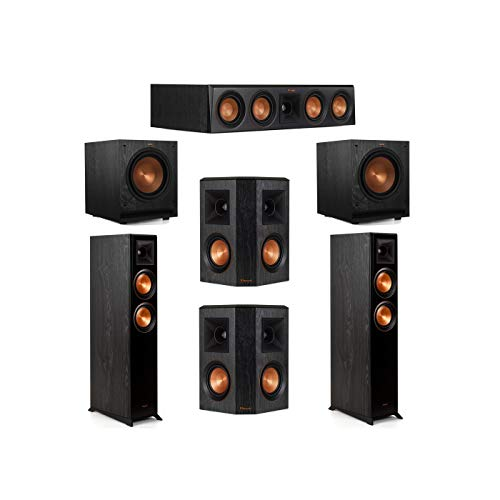 Amazing Deal Klipsch 5.2 System with 2 RP-5000F Floorstanding Speakers, 1 Klipsch RP-404C Center Spe...