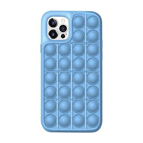 Caja del teléfono de los juguetes de la persona agitada,Funda protectora Push Pop Bubble para aliviar el estrés sensorial para iPhone 12 11 Pro Max-13_para iphone 12 pro max