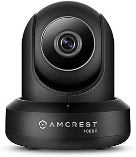 Amcrest IP2M-841 ProHD 1080P (1920TVL) Wireless WiFi IP Camera, Black (Renewed)