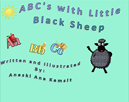 ABC's with Little Black Sheep (English Edition)