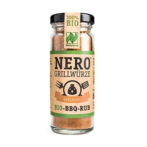 40g BBQ-Gewürzmischung von NERO – BIO – Grillgewürz zum Verfeinern von Fisch und Meeresfrüchten