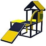 move and stic Casa de juegos Kuno con tobogán y teléfono para habitación...