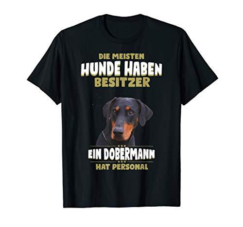 Dobermann TShirt - Dobermann Hund Shirt T-Shirt