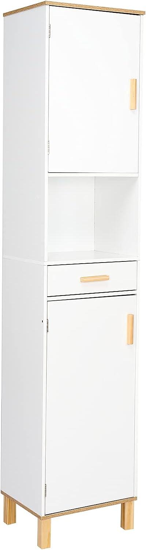 Henf Max 67% OFF 5% OFF Bathroom Floor High Organiz Storage Cabinet Wooden