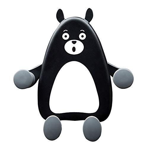 TBoxBo Soporte para teléfono de coche con diseño de dibujos animados para coche, soporte para teléfono celular, soporte para coche, Galaxy, LG, Huawei y más
