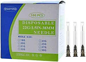 Disposable Sterile 100Pack (22G-1.5IN/38mm)