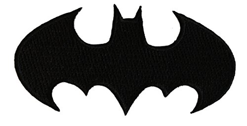C&D Visionary Application Batman Die-Cut Black Logo Patch