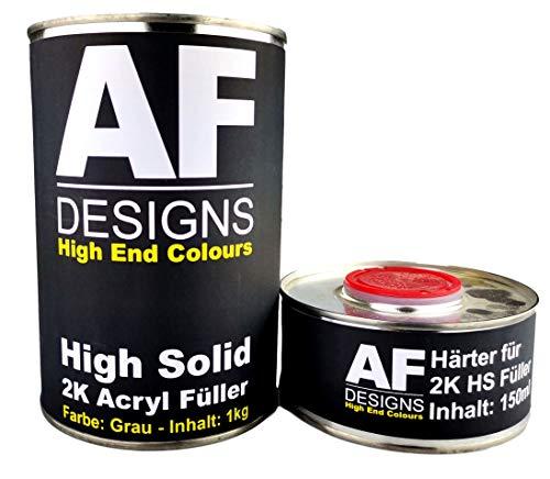 Alex Flittner Designs 2K Acryl Füller Grundierung Dickschichtfüller Rostschutz Filler 1,15kg