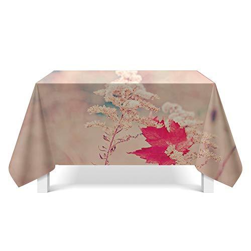 DREAMING-Kleine Frische Stoff Tischdecke Home Esstisch Stoff Tv-Schrank Couchtisch Stoff Runde Tisch Tischset 140cm * 220cm