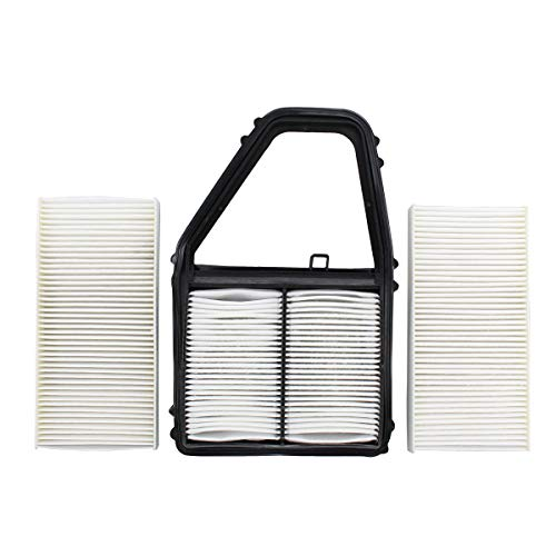 NewYall Cabin and Engine Air Filter Set