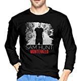 Sam Hunt Montevallo Men Long-Sleeve Premium ComfortSoft T-Shirt Shirt Black