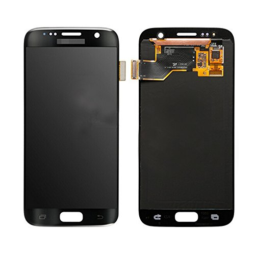 LCD Display Touch Screen Digitizer Assembly for Samsung Galaxy S7 SM-G930 with free tools (Black)