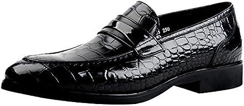 Insun Herren Leder Leder Leder Crocodile Halbschuhe Schnürhalbschuhe  Schau dir die billigsten an