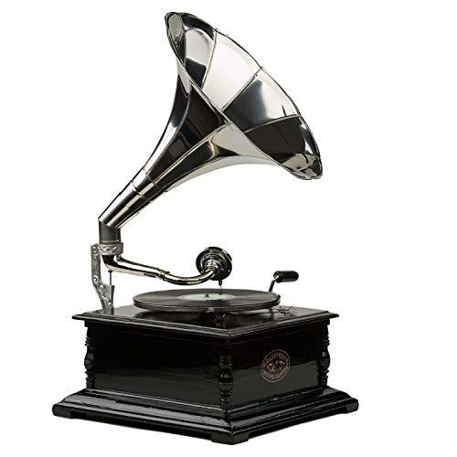#07 GRAMMOFONO Record Nostalgia grammofono Gramophone Gramophone imbuto stile antico grammofono