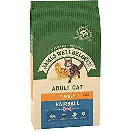 James Wellbeloved Complete Dry Adult Hairball Control Cat Food