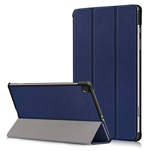 ZhuoFan Funda Tablet para Samsung Galaxy Tab E 9,6 T560, T561 Cárcasa Cuero PU Silicona Magnetica Función de Soporte y Auto-Desbloquear Case Protector Fundas para Samsung Tab E 9,6 Pulgadas, Azul