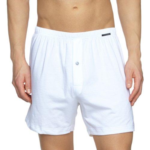 Schiesser Herren Boxershorts Boxershorts Schiesser Boxershorts, Weiß (White 100), Large