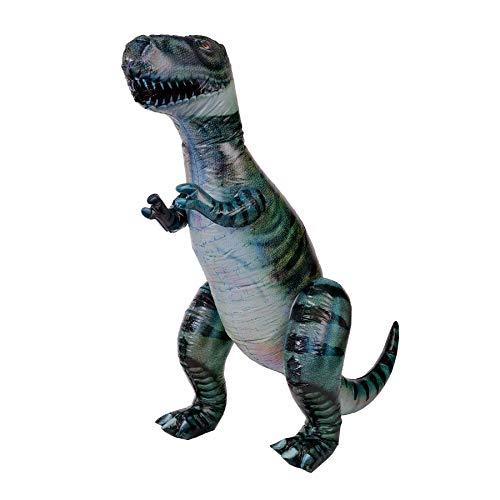 Monsterzeug XXL Dinosaurier zum Aufblasen, Aufblasbarer Tyrannosaurus Rex, Riesiger Dino zum Aufpusten, XXL Geschenk für Kinder