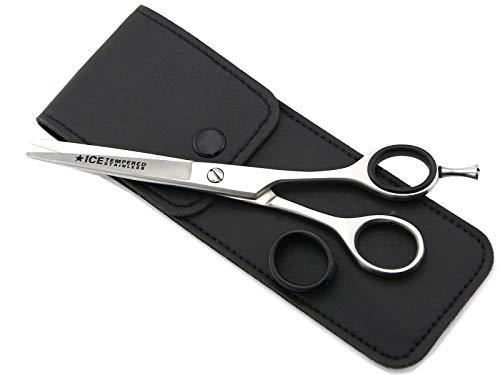 Haarschere Friseurschere 6 Zoll 15,5 cm mit einseitiger Mikroverzahnung