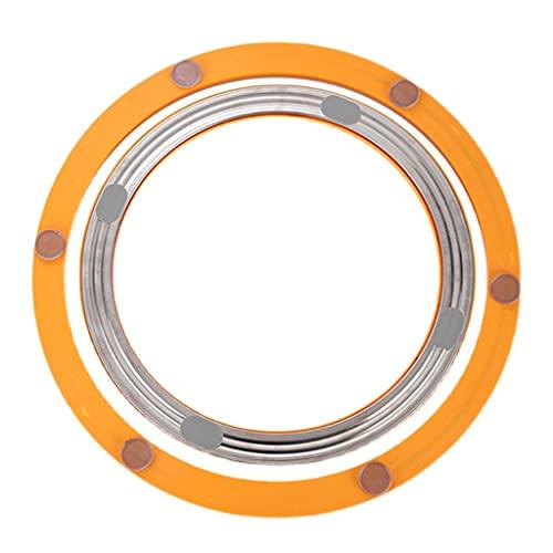 Base Giratoria de Resina Sintética Lazy Susa Capacidad de Carga 170 Kg Anillo Giratorio de Rodamiento para Mesas de Comedor de Mármol Vidrio Y Madera para Mesas de Comedor de Mármol Vidrio Y Made