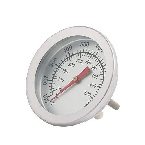 Thermometer, Edelstahl-Grill BBQ Smoker Grill 50-500 ℃ Thermometer-Temperaturanzeige