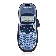 Dymo LetraTag LT-100H Urządzenie do etykietowania Handheld | Przenośna drukarka etykiet z klawiaturą ABC | niebieski | Idealny do biura lub w domu