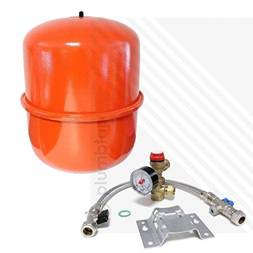 Zilmet b00i8p061m Kit de sistema, en blíster y vaso de expansión de calefacción 18L