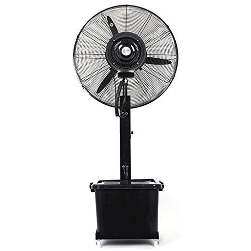 Jyfsa Ventilador de fábrica de 3 configuraciones de Velocidad Humidificador de Suelo Ventilador Industrial Potente Ventilador de pulverización Exterior Refrigeración por pulverización Interior Grande