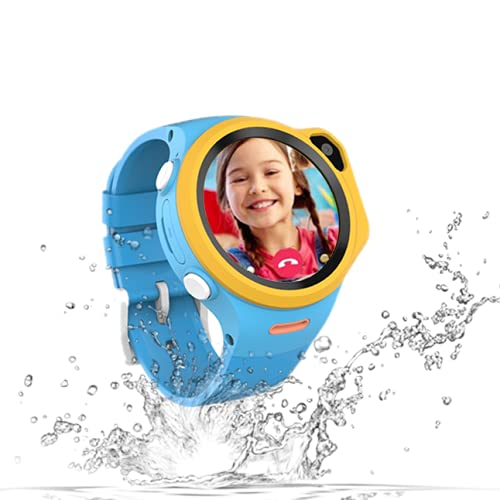 WatchOut Wearables Next-Gen Kids Smartwatch with 4G Video Call, Music, Games, Anti-Theft and Parental Control (Macaw Blue), Fits All