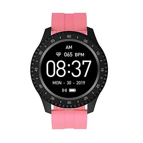 Gymqian Reloj Inteligente Exquisita F17 para Hombres, Mujeres Ip68 a Prueba de Agua 1,54' Pantalla a Color de Bluetooth Deporte Inteligentes Muñequera Monitor Del Ritmo Cardíaco Sma