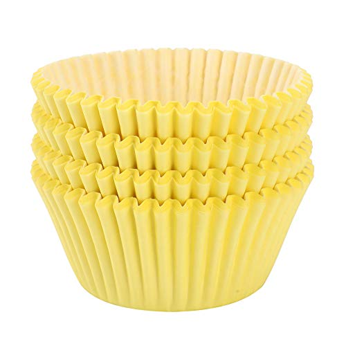 Yellow Cupcake Liners (100 ct)