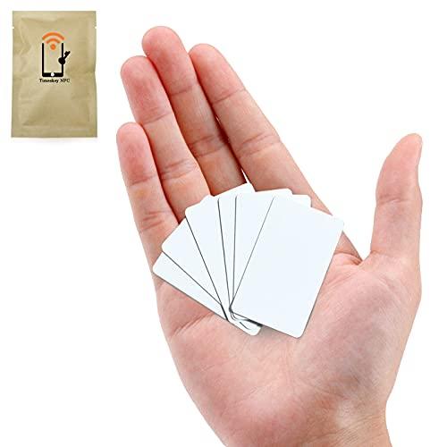 Timeskey NFC Card 22 Ntag215 NFC Karten, 5 X 3 cm PVC Mini Karten Größe NFC Tags Kompatibel Mit Amiibo Und Tagmo, Arbeit Mit Allen NFC-Fähigen Handys.
