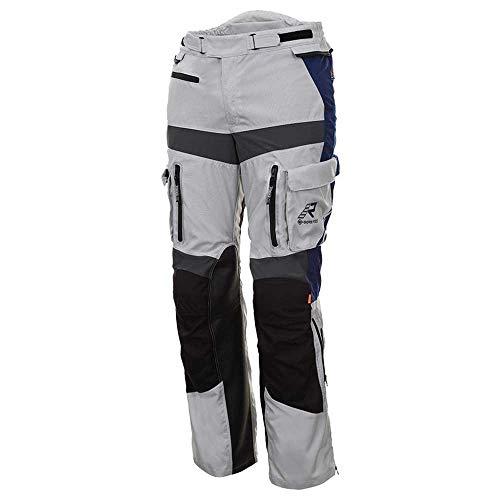 Rukka Offlane Motorrad Textilhose Grau/Blau 54 L32