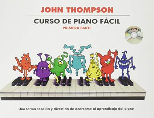 Curso de piano fácil - Volumen 1